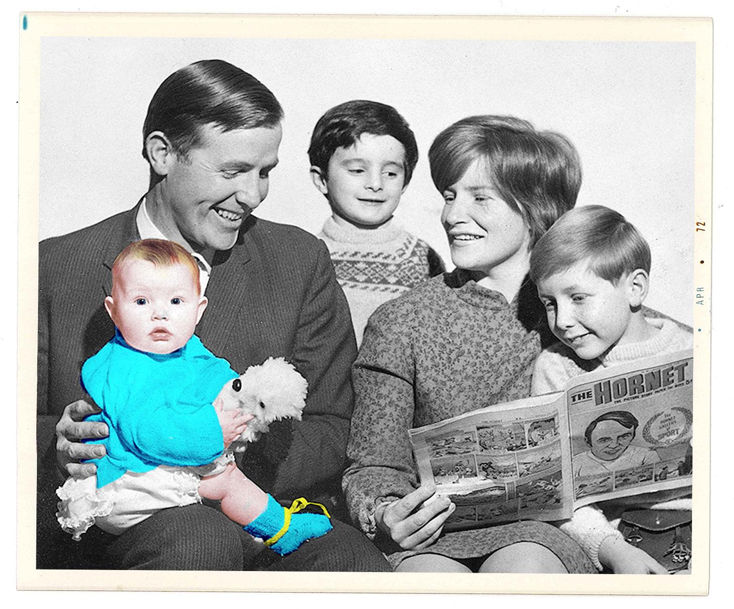 Miranda Doyle (the baby) and her family