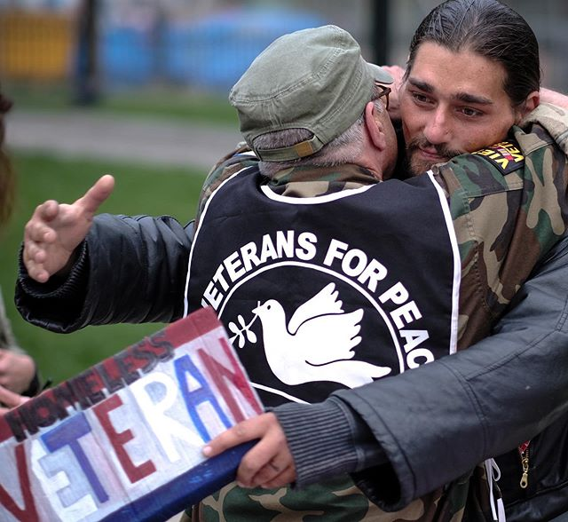 In America, much of the homeless population is made up of veterans. According to The Department of Veterans Affairs, in 2018 around 37,000 veterans were homeless on a given night. Many veterans are unable to get onto disability, forcing them into poverty.
