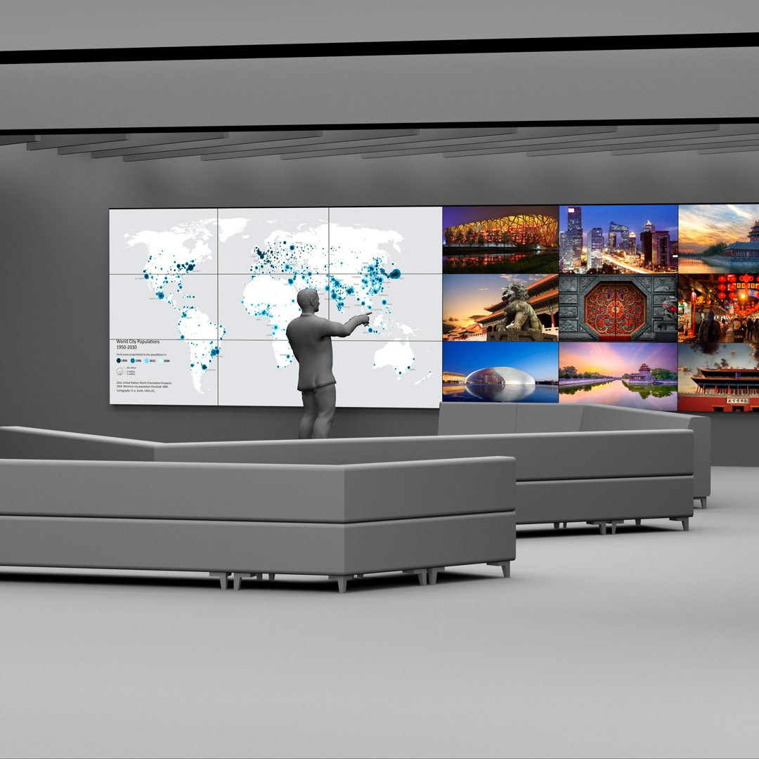 Digital Signage - Creating smarter spaces through technology and design