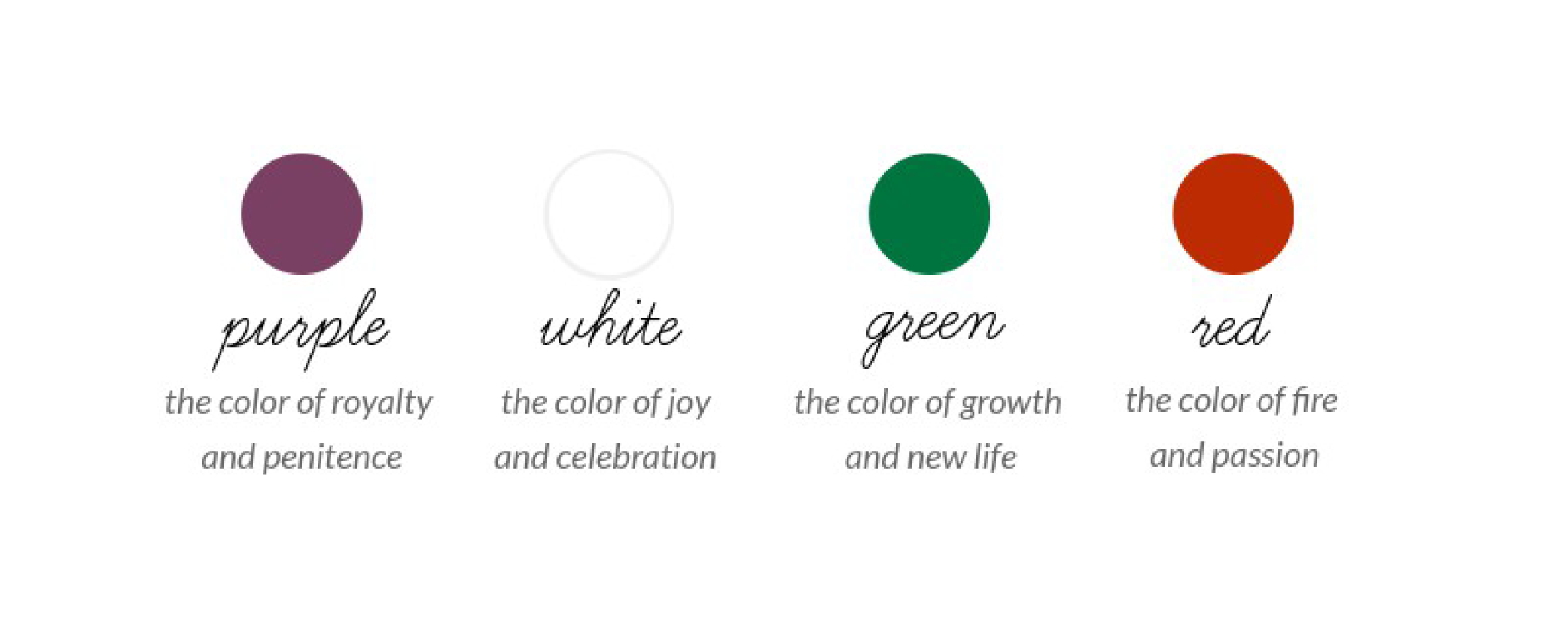 Infographic - Colors of the Church Year   Ashley Danyew