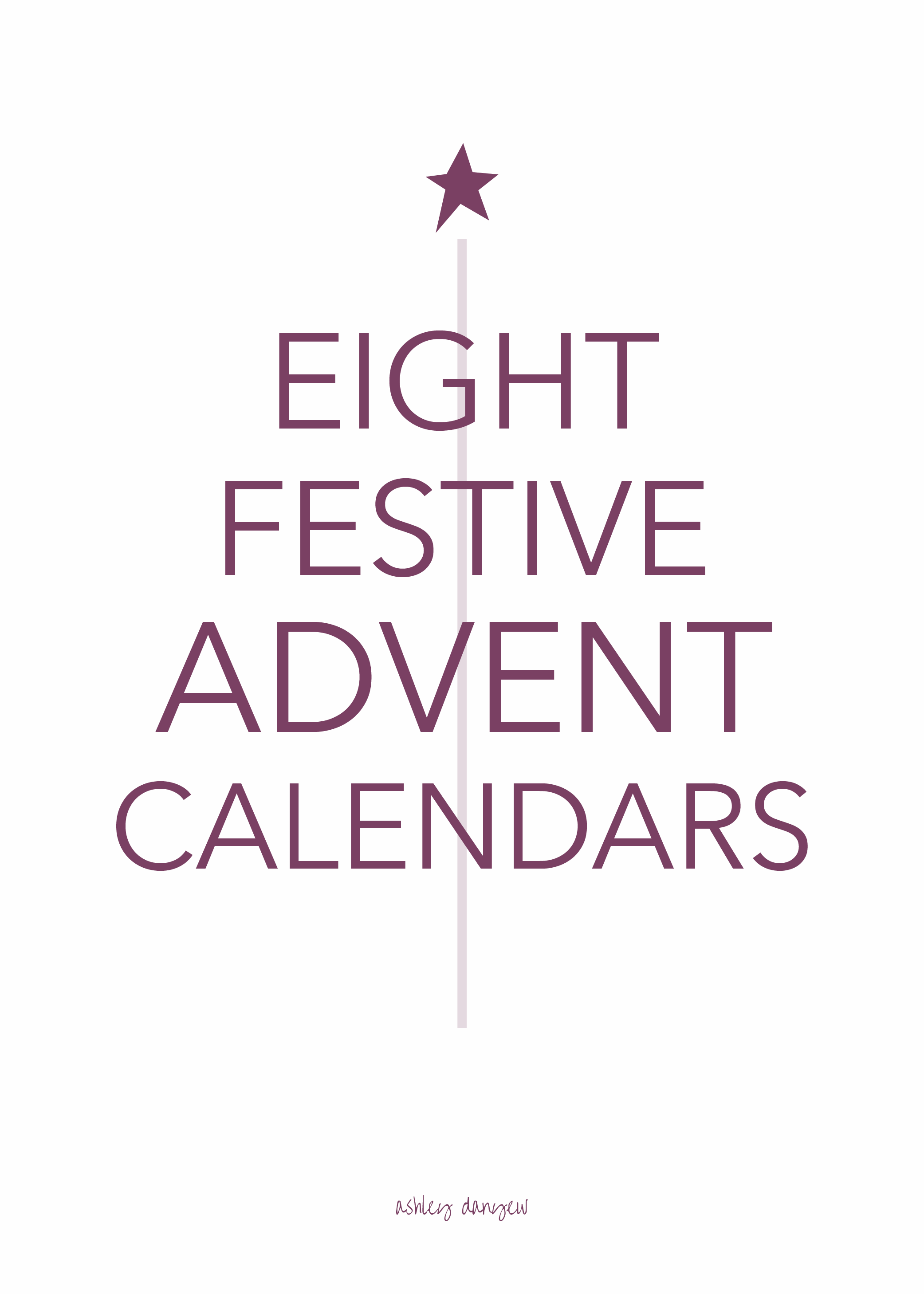 Copy of 8 Festive Advent Calendars