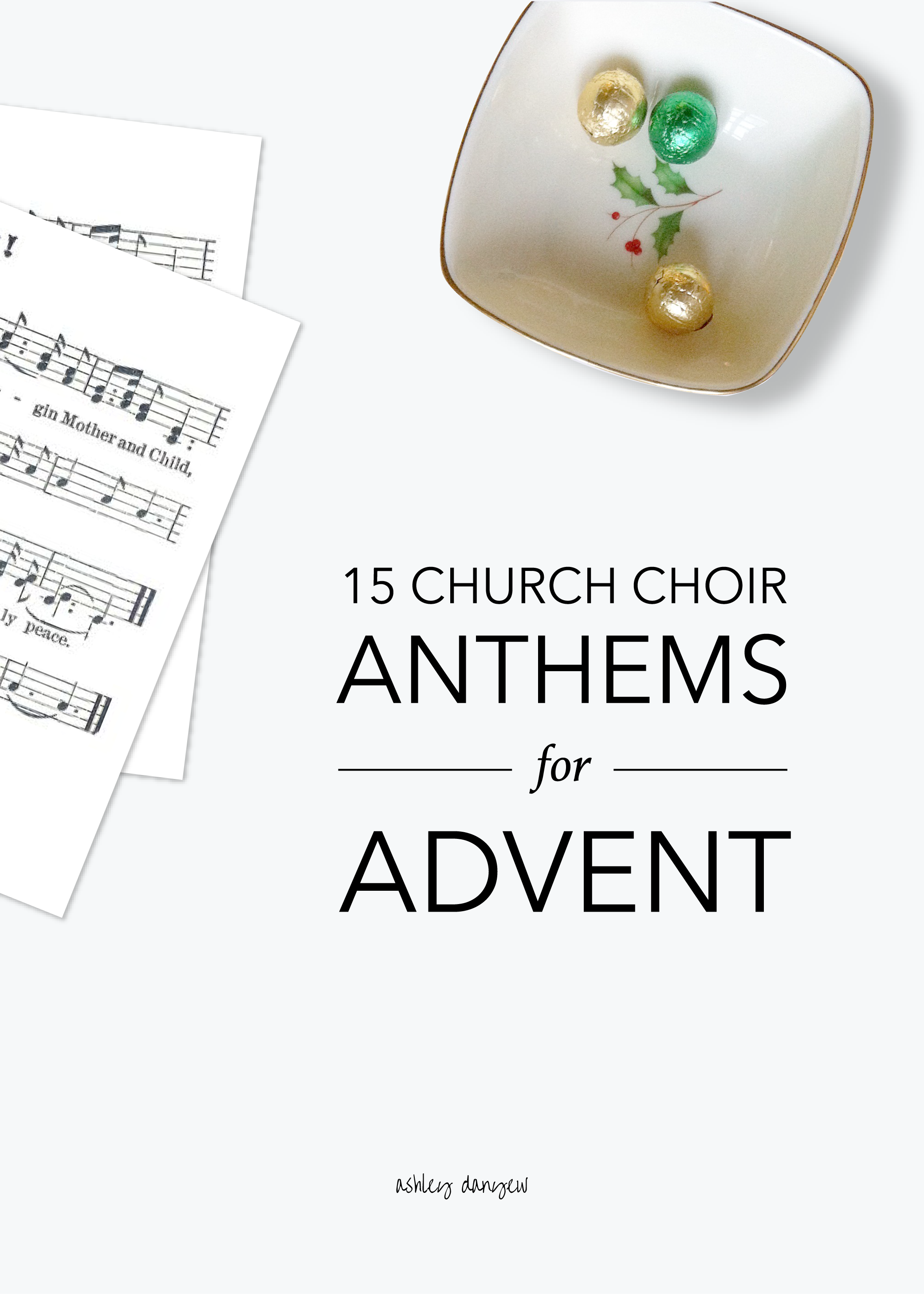 Copy of 15 Church Choir Anthems for Advent