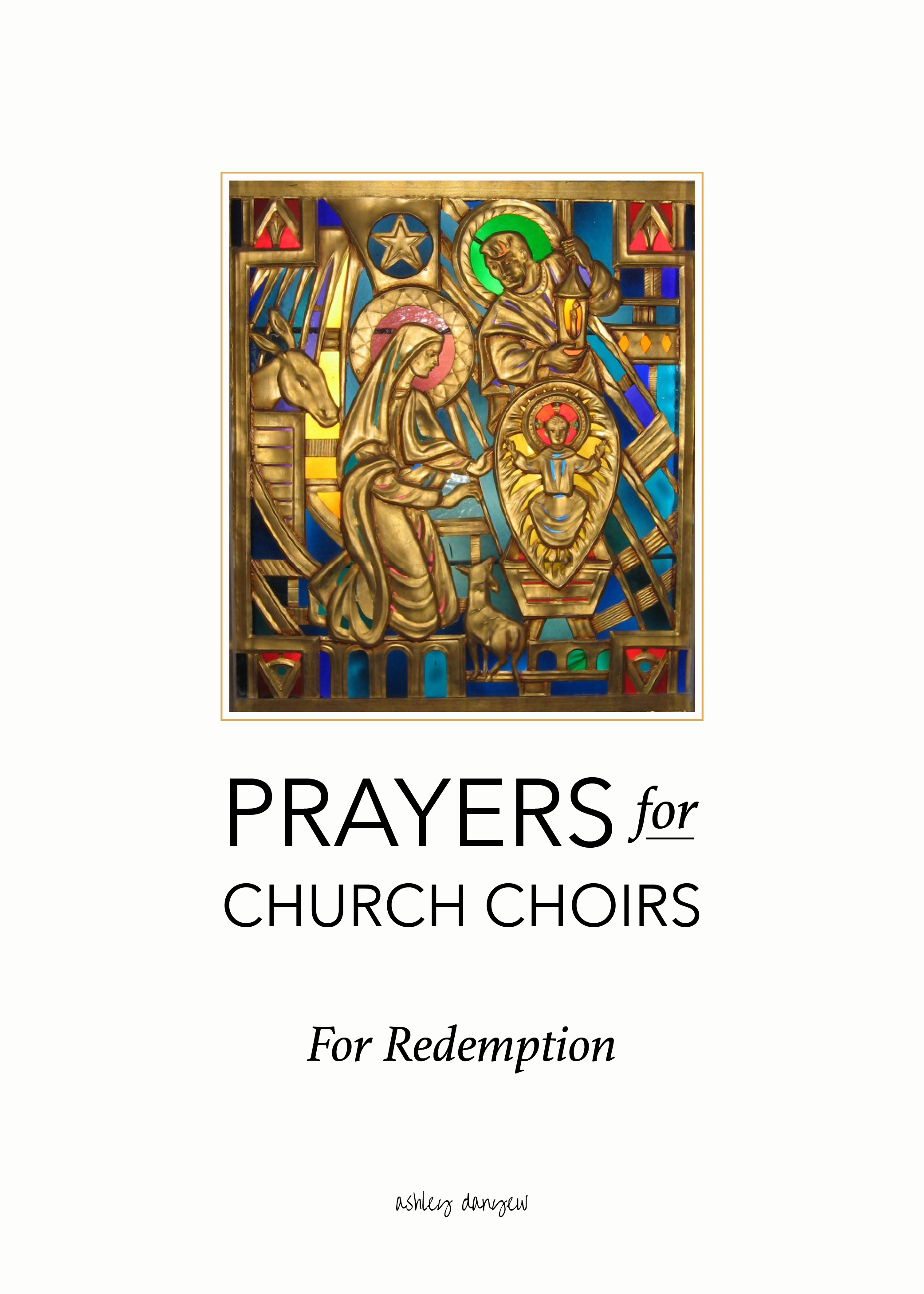 Copy of Prayers for Church Choirs: For Redemption
