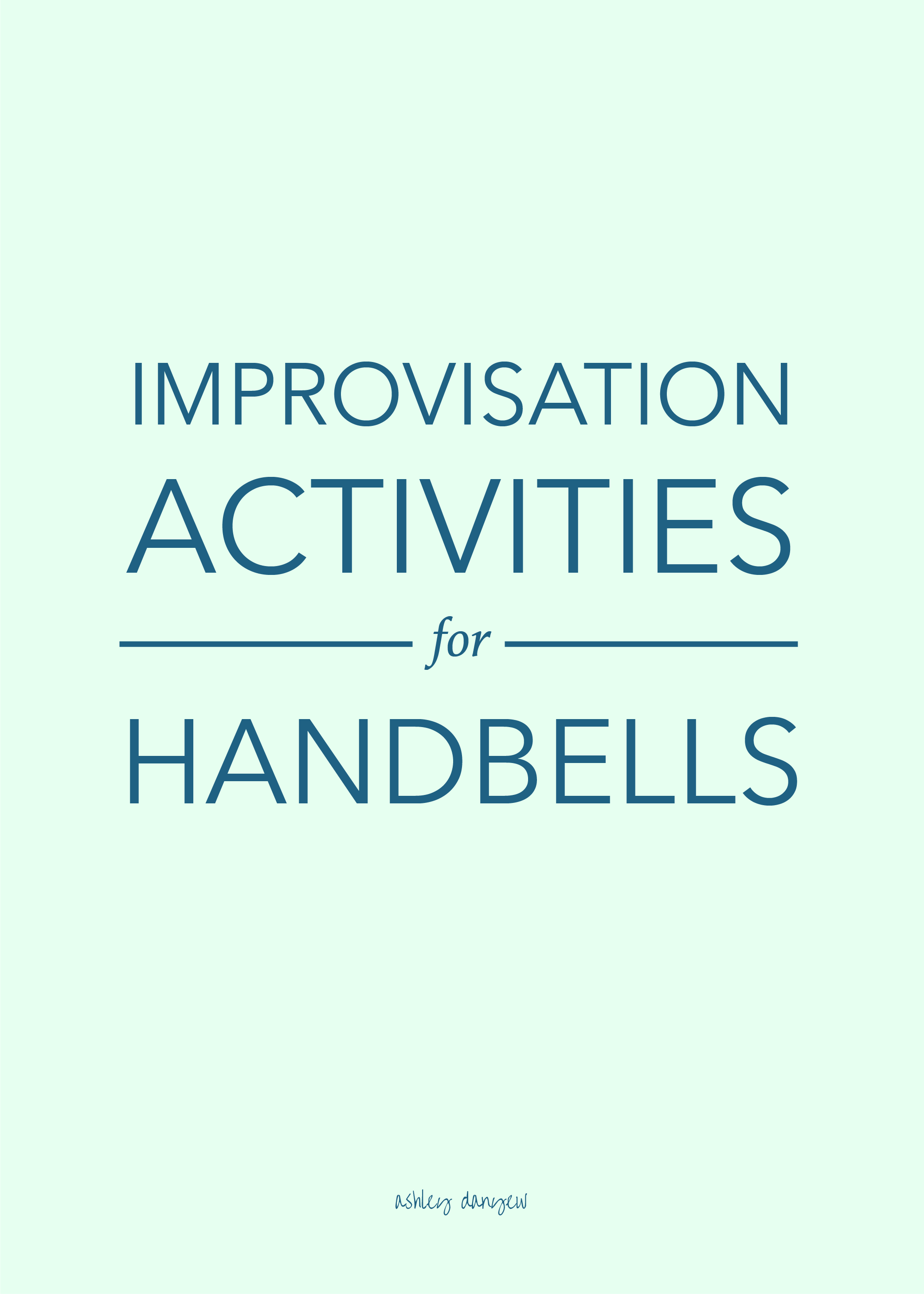 Copy of Improvisation Activities for Handbells
