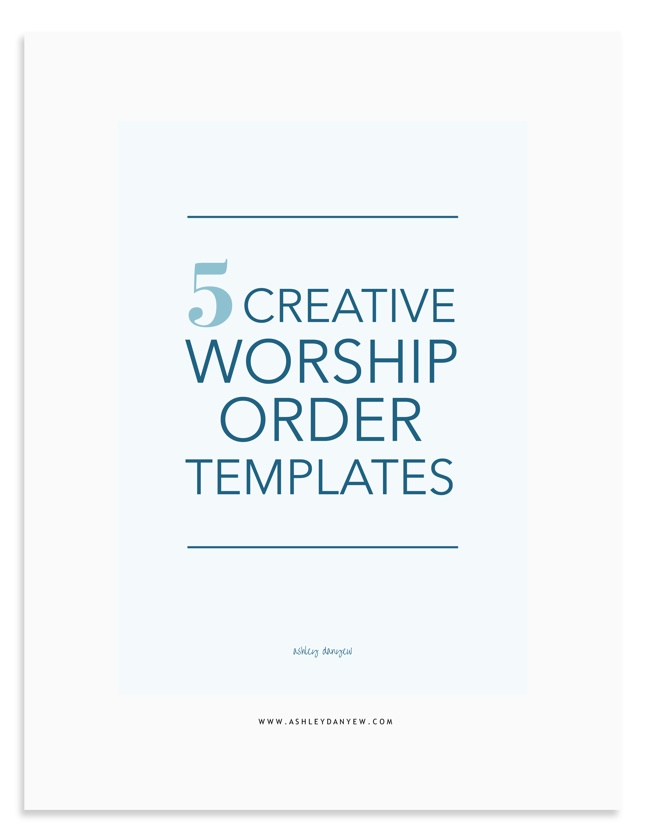 5 Creative Worship Order Templates.png