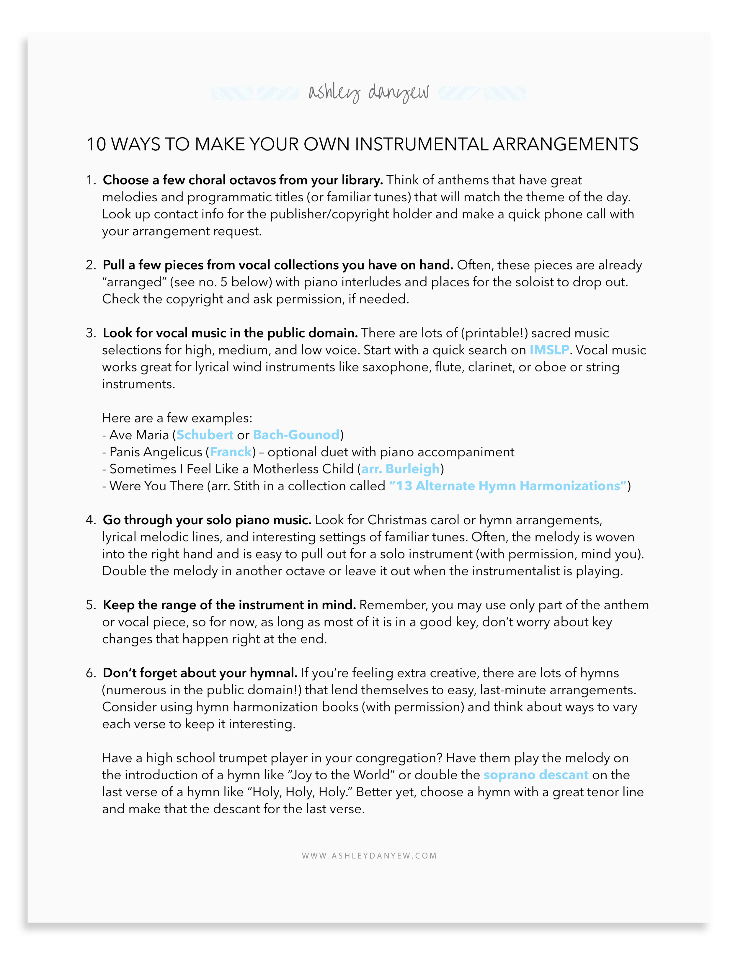 10 Ways to Create Your Own Instrumental Arrangements.png