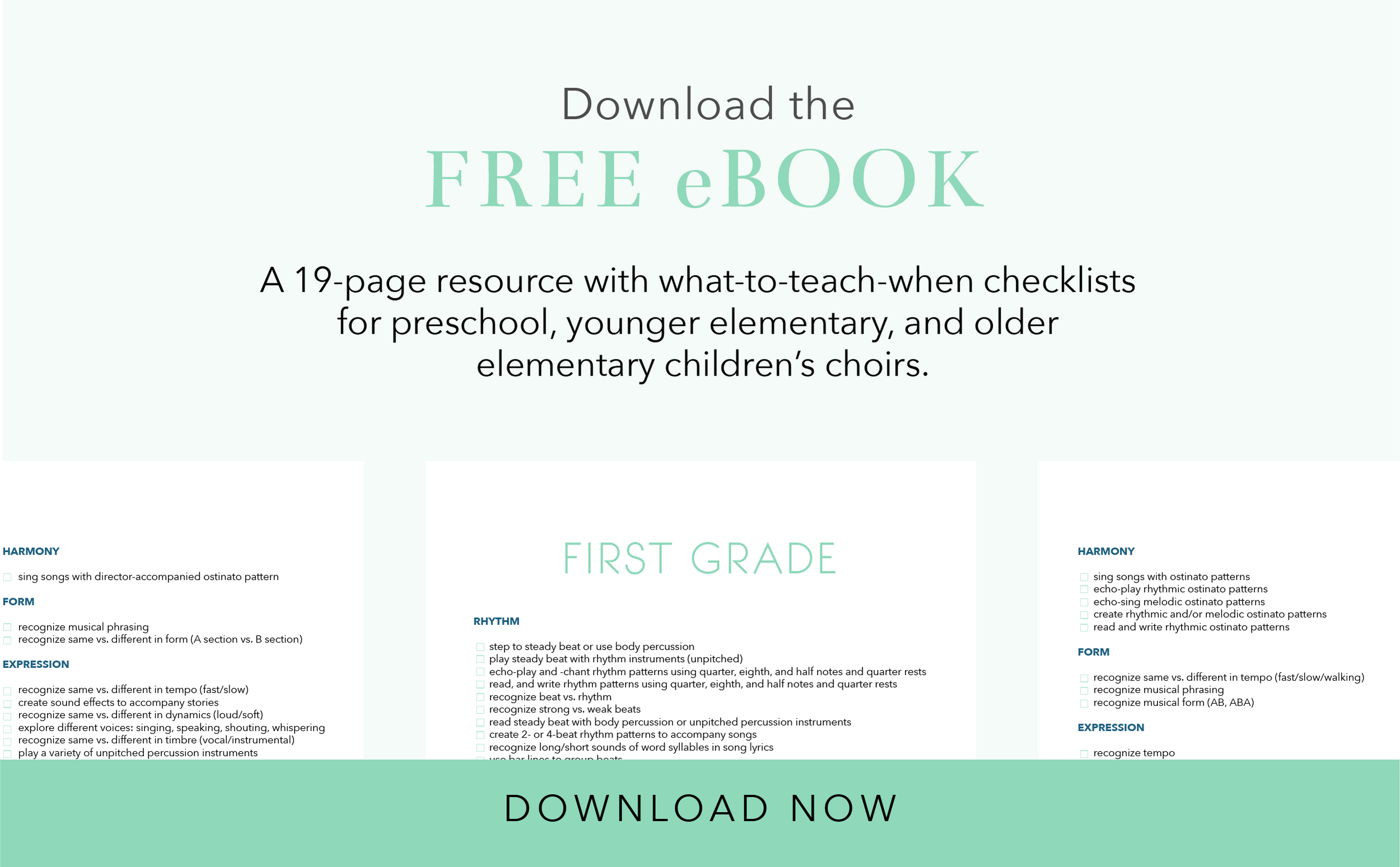 What to Teach When in Preschool Choirs_Free eBook by Ashley Danyew.png