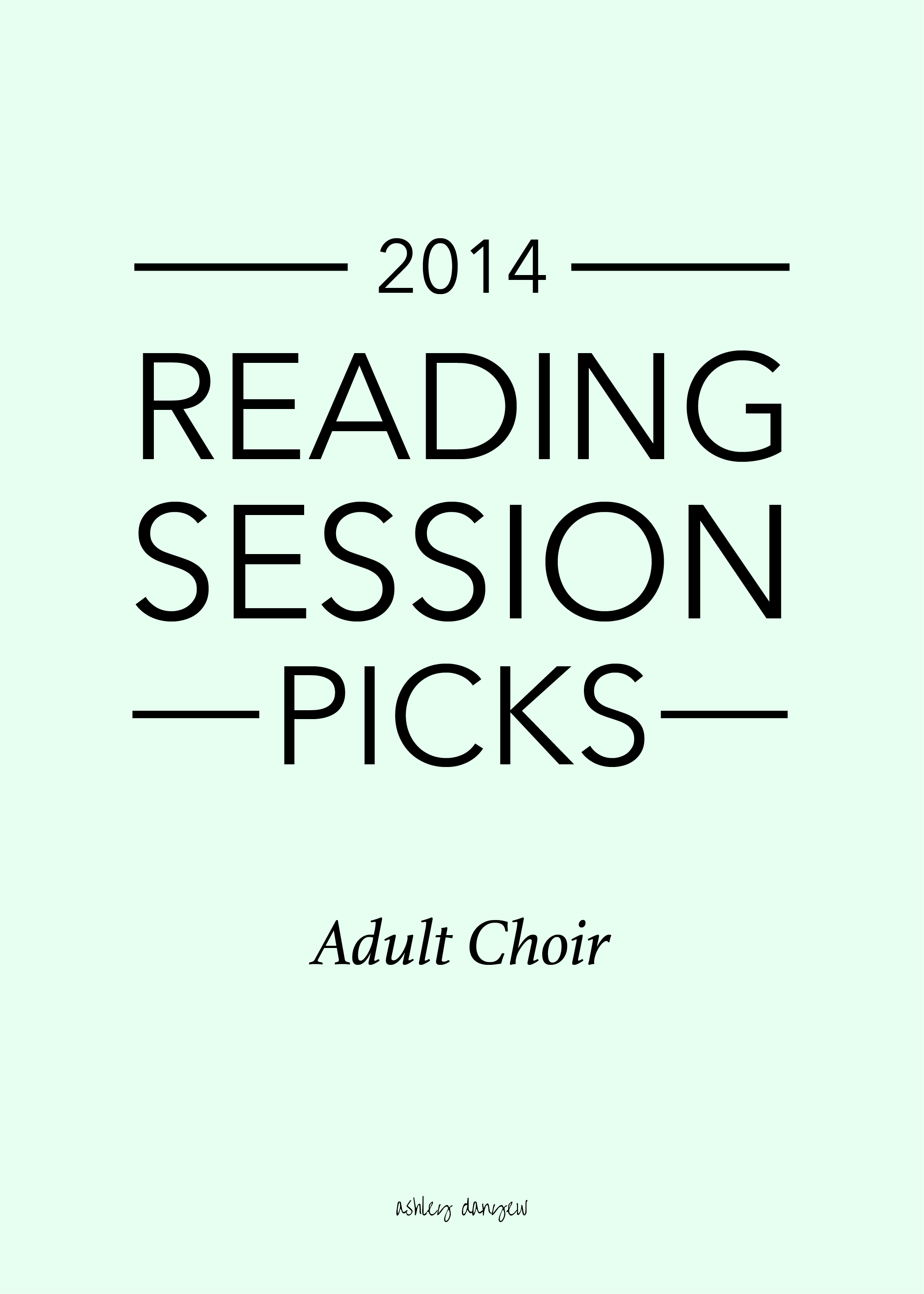 2014 Reading Session Picks - Adult Choir.png