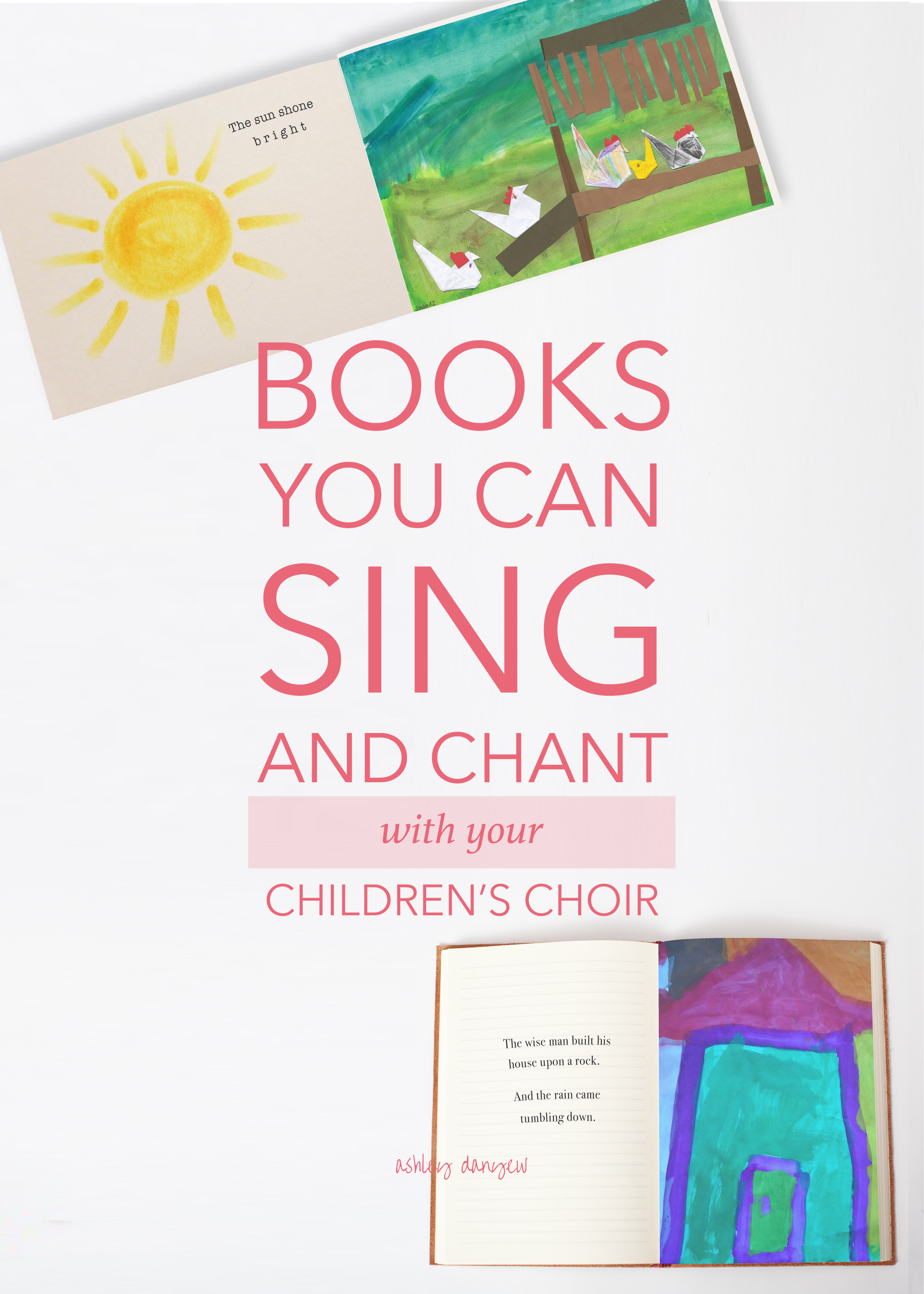 Books You Can Sing and Chant with Your Children's Choir