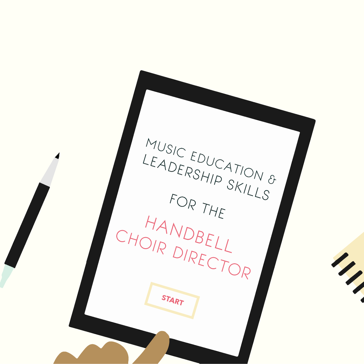 Music Education & Leadership Skills for the Handbell Choir Director - Online Course.png
