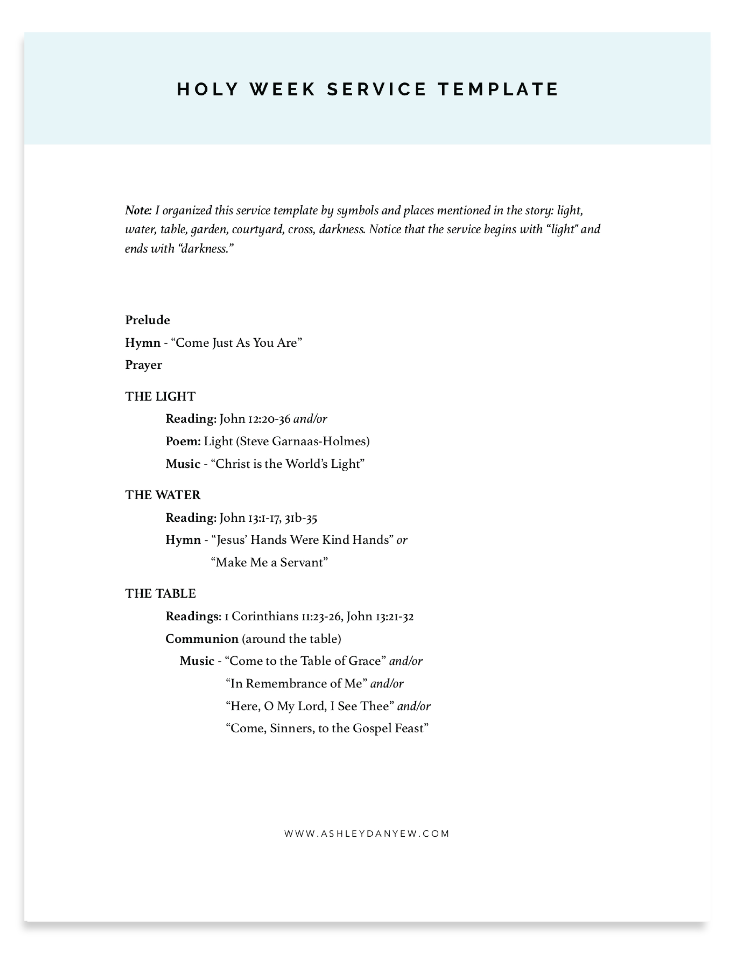 Free Holy Week Service Template and Lenten Resource Guide by Ashley Danyew.png