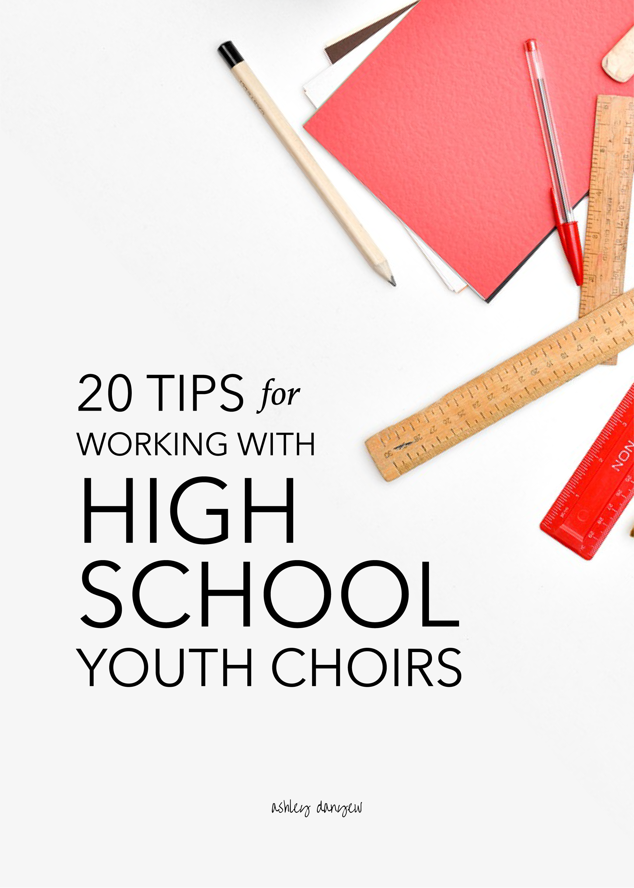 20 Tips for Working with High School Youth Choirs