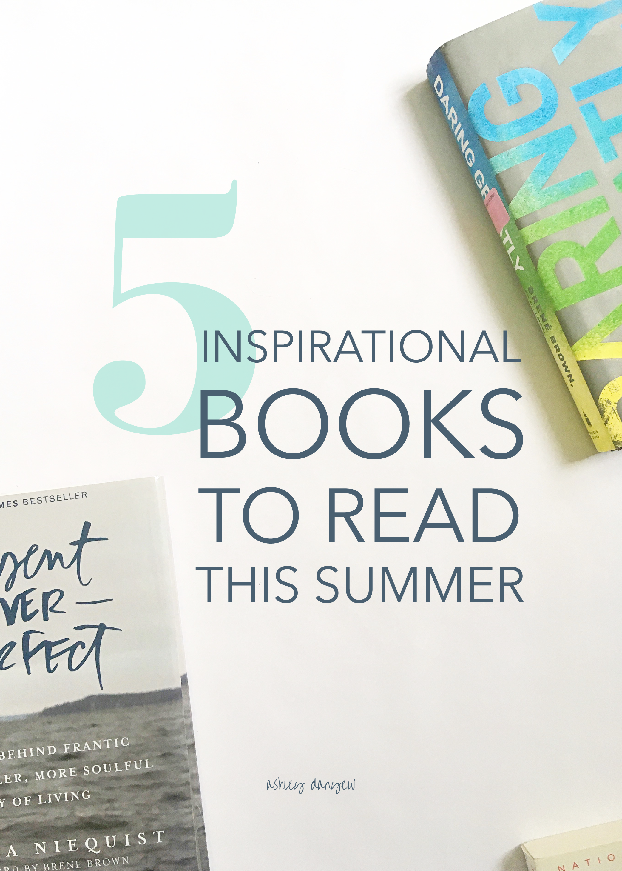 5 Inspirational Books to Read This Summer