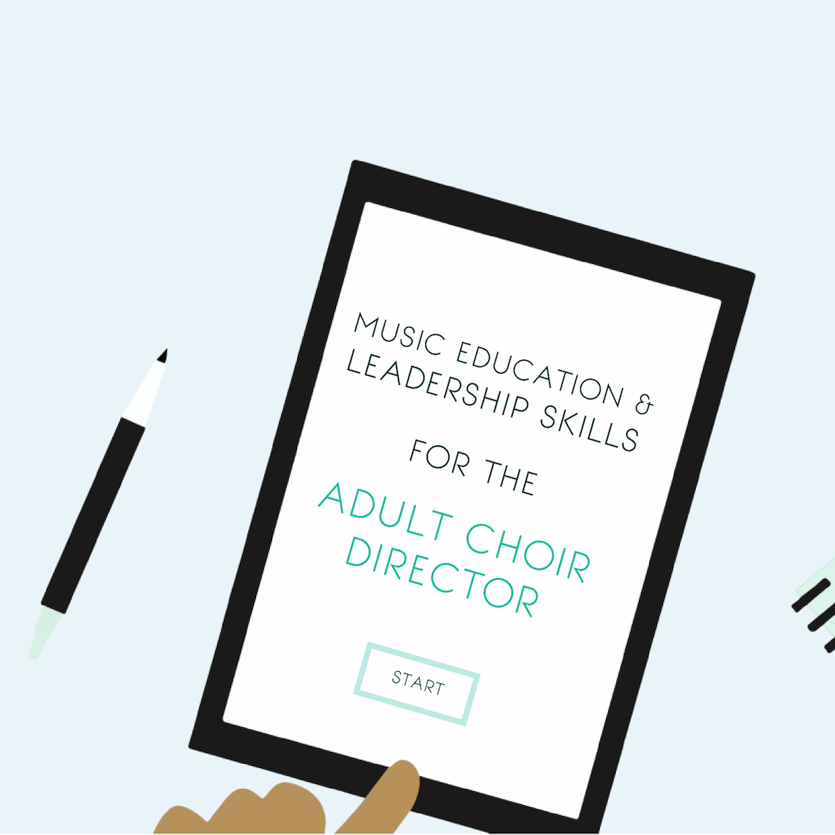 Music Education & Leadership Skills for the Adult Choir Director - an online mini course for church choir directors.png