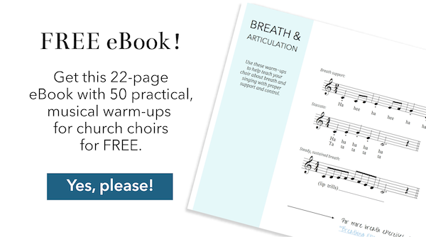 50 Awesome Choral Warm-Ups for Church Choirs eBook by Ashley Danyew.png