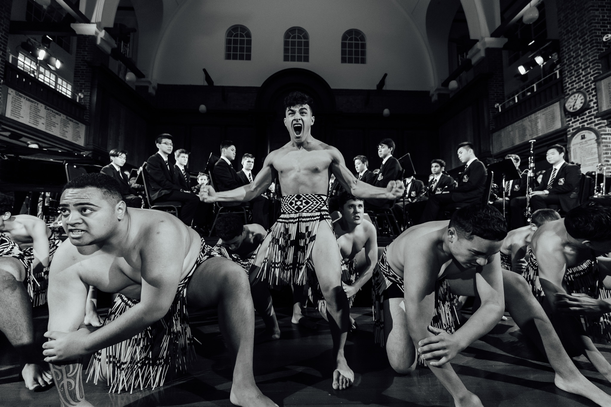 Auckland Grammar School 150th - Haka at the Musical Extravaganza