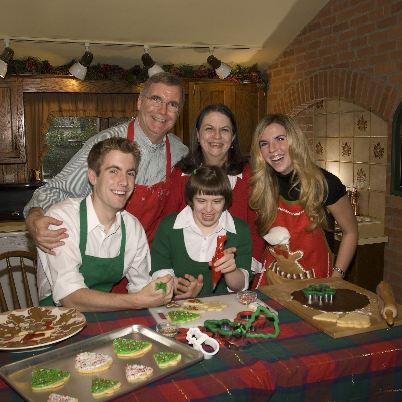 Joe's family: Wife, Rhonda, and Children, Jaime, Jodi, and Joe