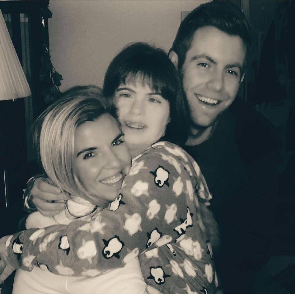 Joe's three children: Jaime, Jodi and Joe