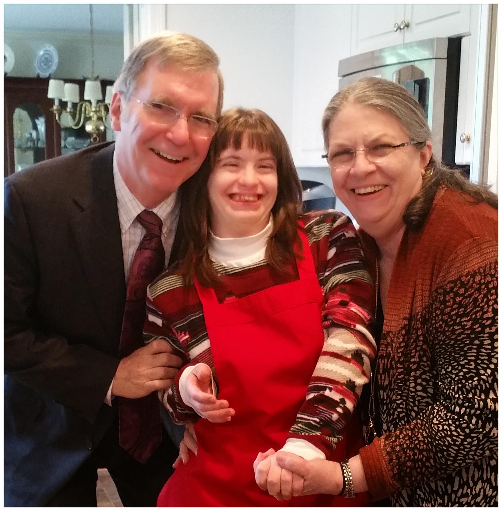 Joe & Rhonda with their daughter, Jodi.