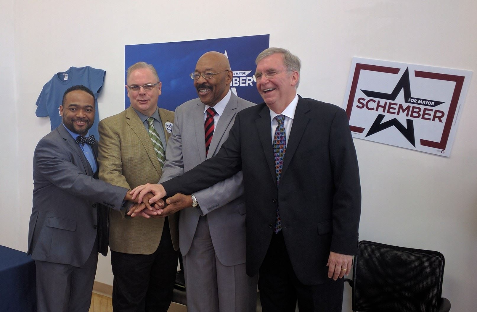 City Councilmen Endorse Joe Schember for Mayor.