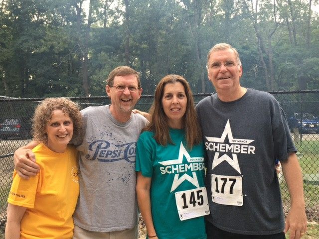 Running a 5K in support of The Arc of Erie and children/adults with special needs.