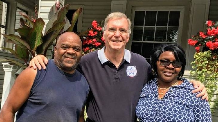 One of Joe's greatest joys of campaigning is going door-to-door to meet Erie-ites.