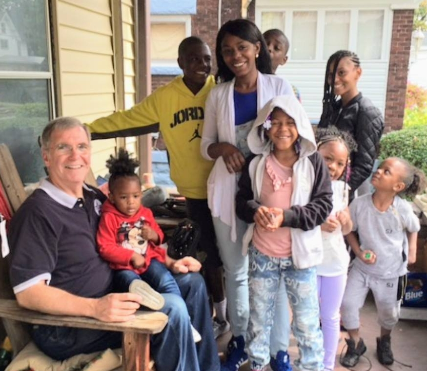 Going door-to-door to hear struggles first-hand and talk ideas to build opportunity, restore hope, and transform Erie.