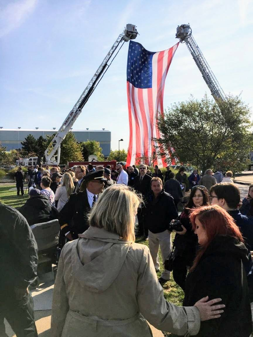 9/11 Memorial Service at the Blasco Library