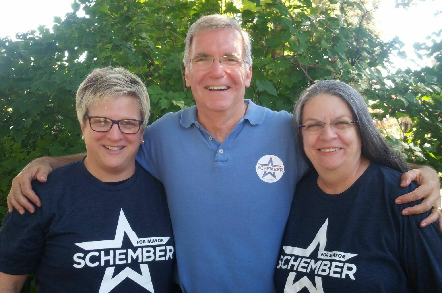 Another great day of door-to-door, thanks to help from Almi Clerkin & Rhonda.
