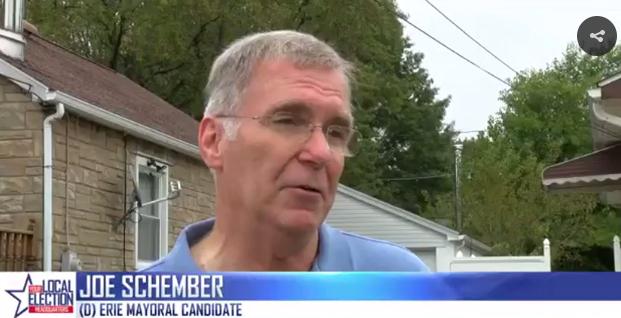 Joe Schember may be knocking on your door very soon