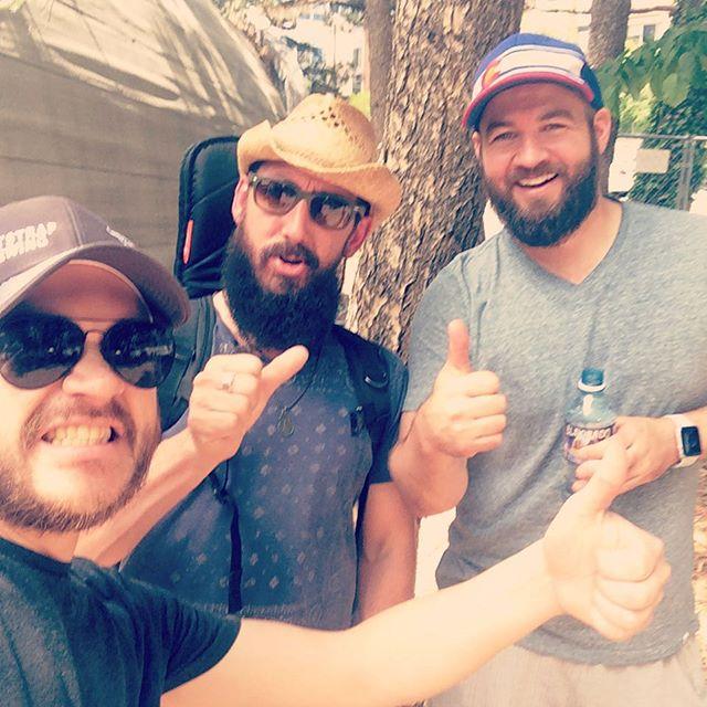 Boulder Creek Fesitval backstage shenanigans : alright : : alright : : alright : @bouldercreekevents #matthewmcconaughey #brokenlandband #superfriends #itshot