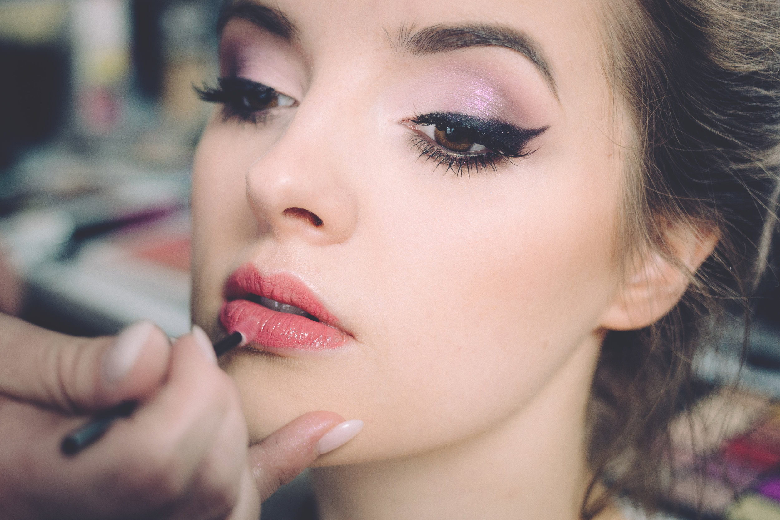Make-Up Application ($50) - Whether it be for a formal occasion, date night, wedding or just because, we can help!