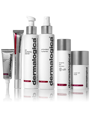 Age Smart System designed to reduce visible signs of aging and restore elasticity to dull, aging skin.