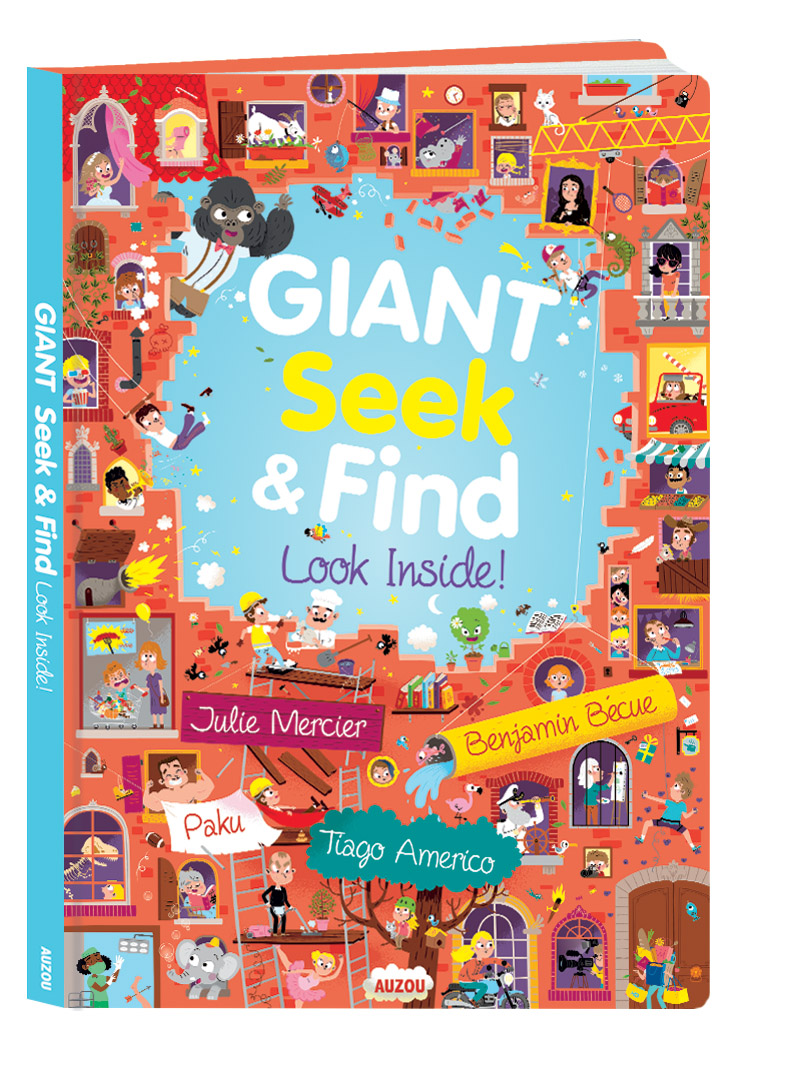 Giant Seek and Find look Inside