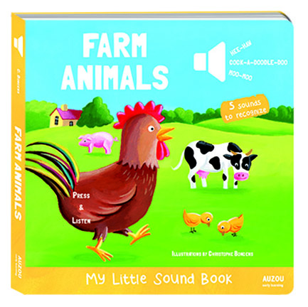 Farm Animals ISBN 978-2-7338-2707-9