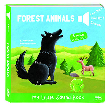 Forest Animals My Little Sound Book