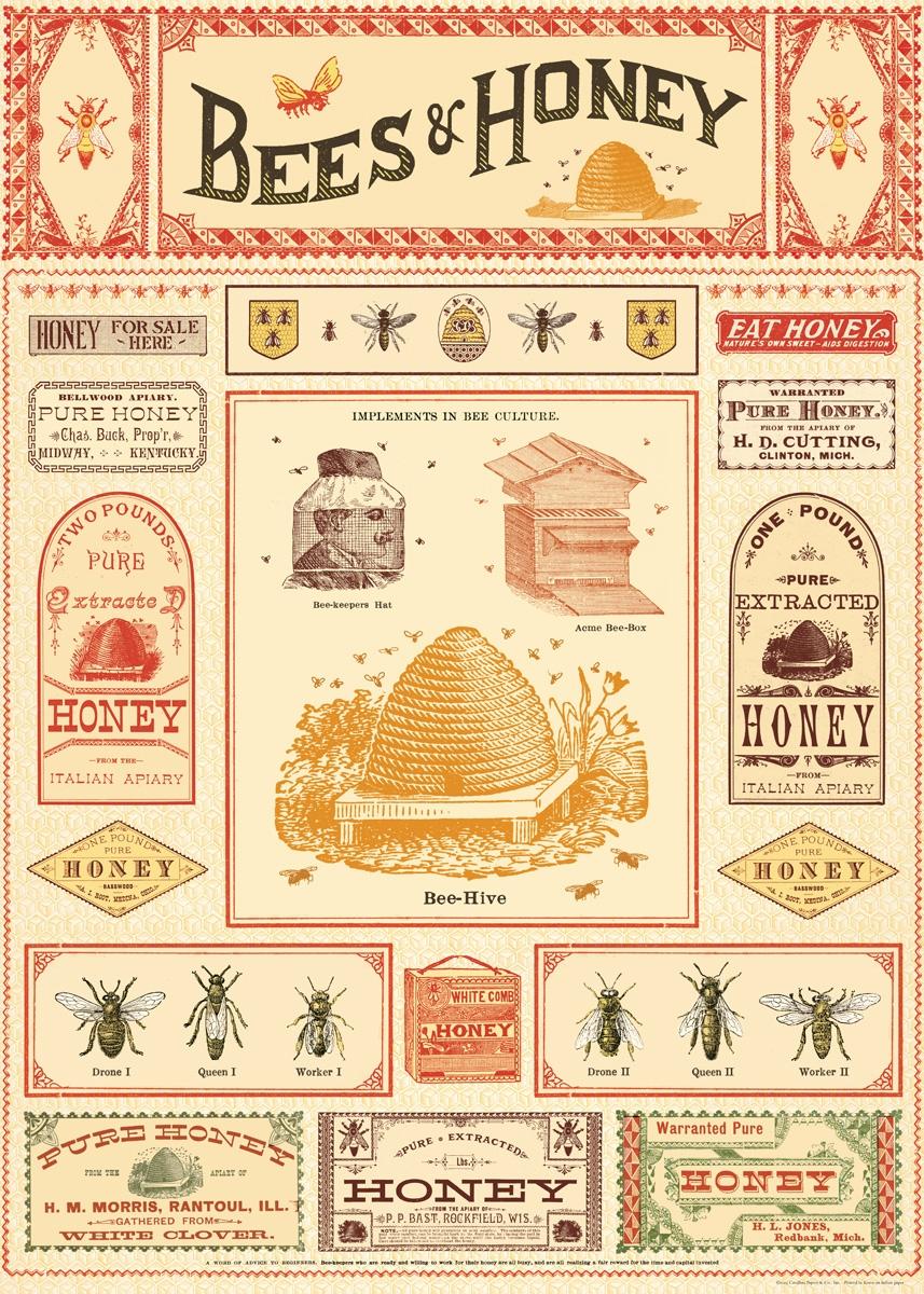 Bees & Honey Wrap