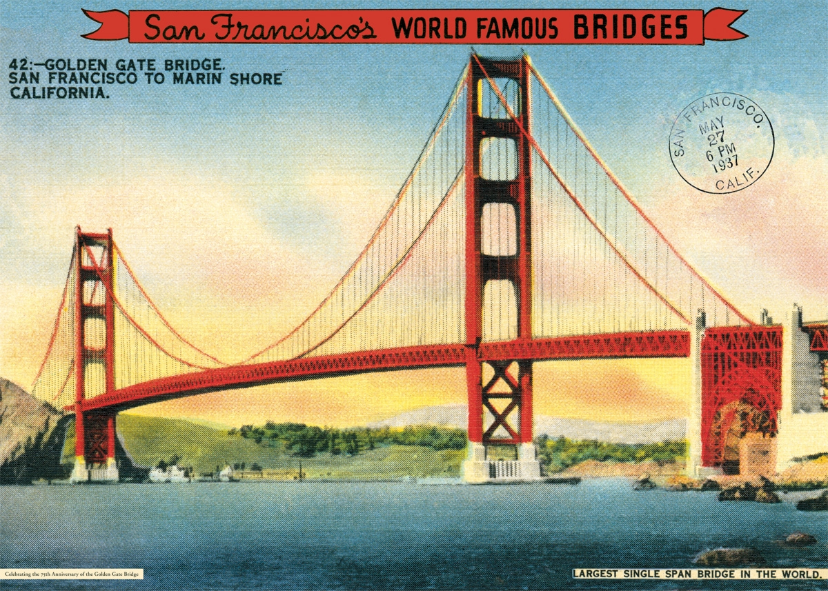 Golden Gate Bridge Wrap