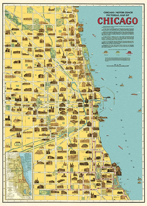 Chicago Map Wrap