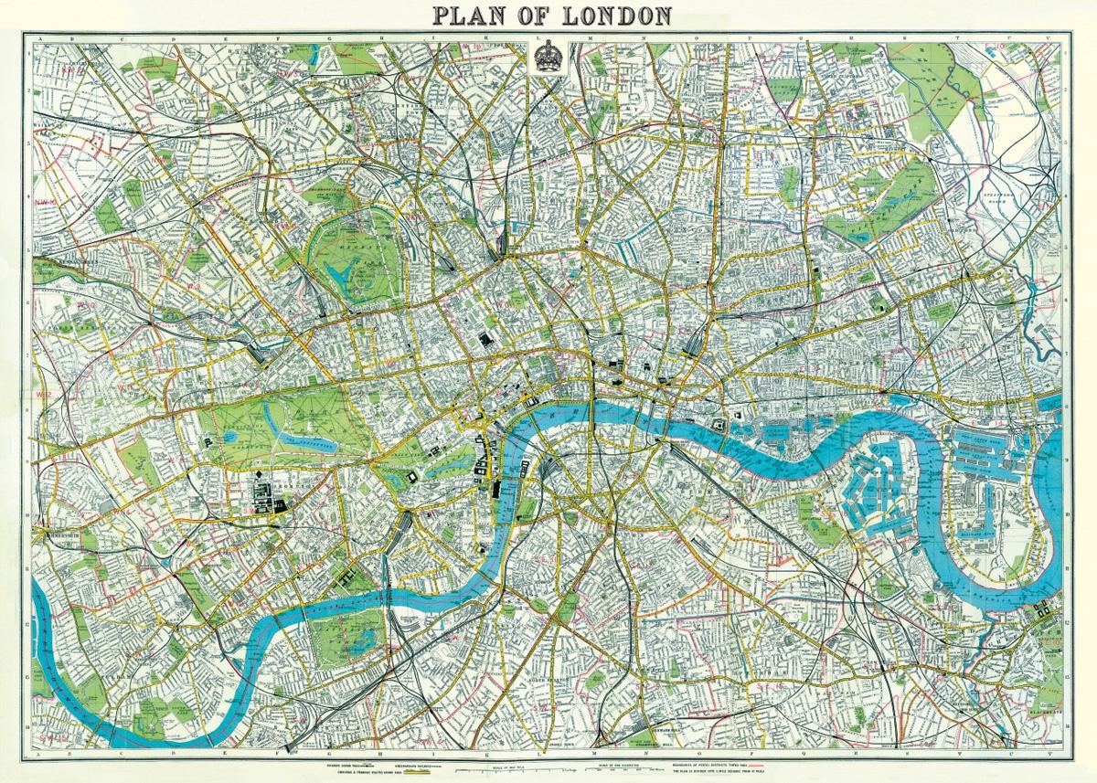 London Map 2 Wrap