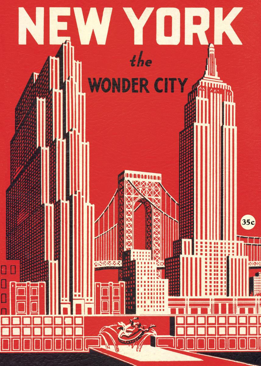 New York Wonder City Wrap
