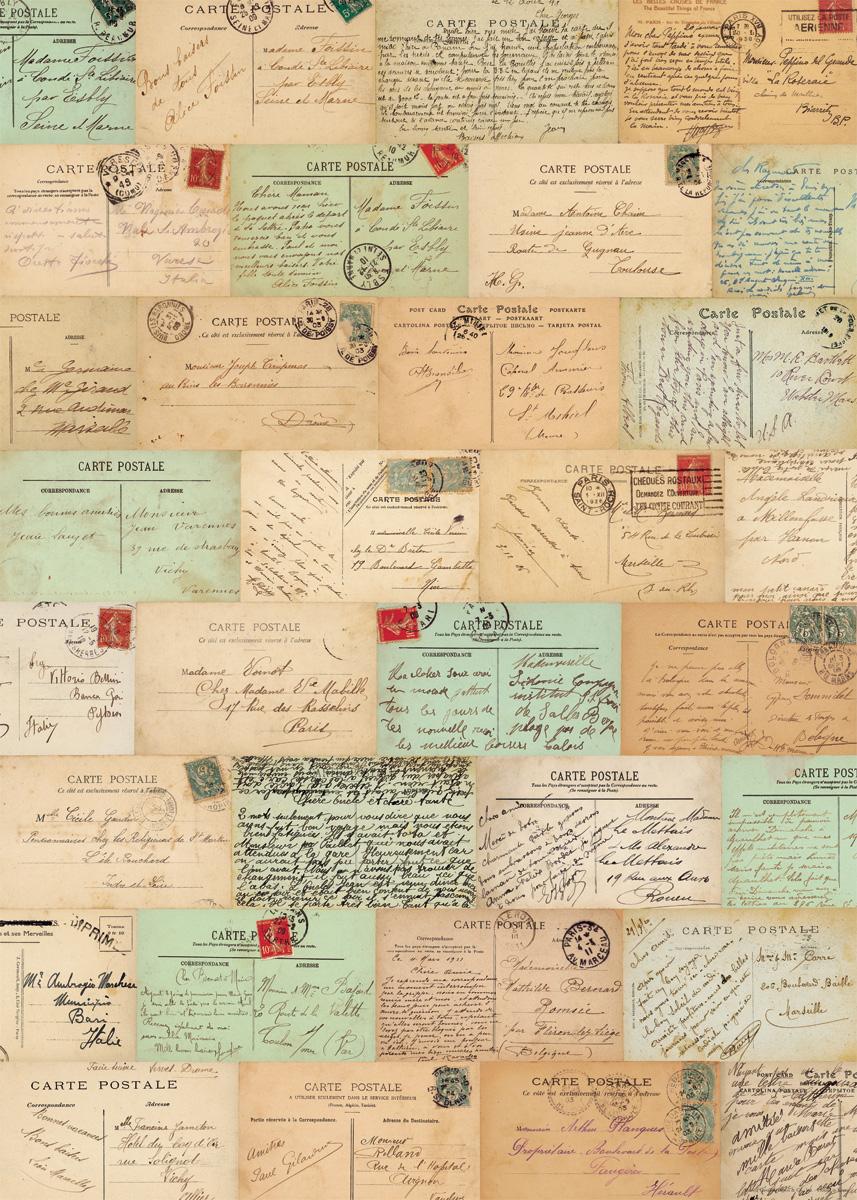 Paris Postcards Text Wrap