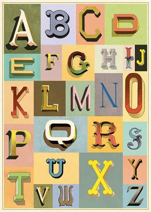 Vintage Typography Wrap