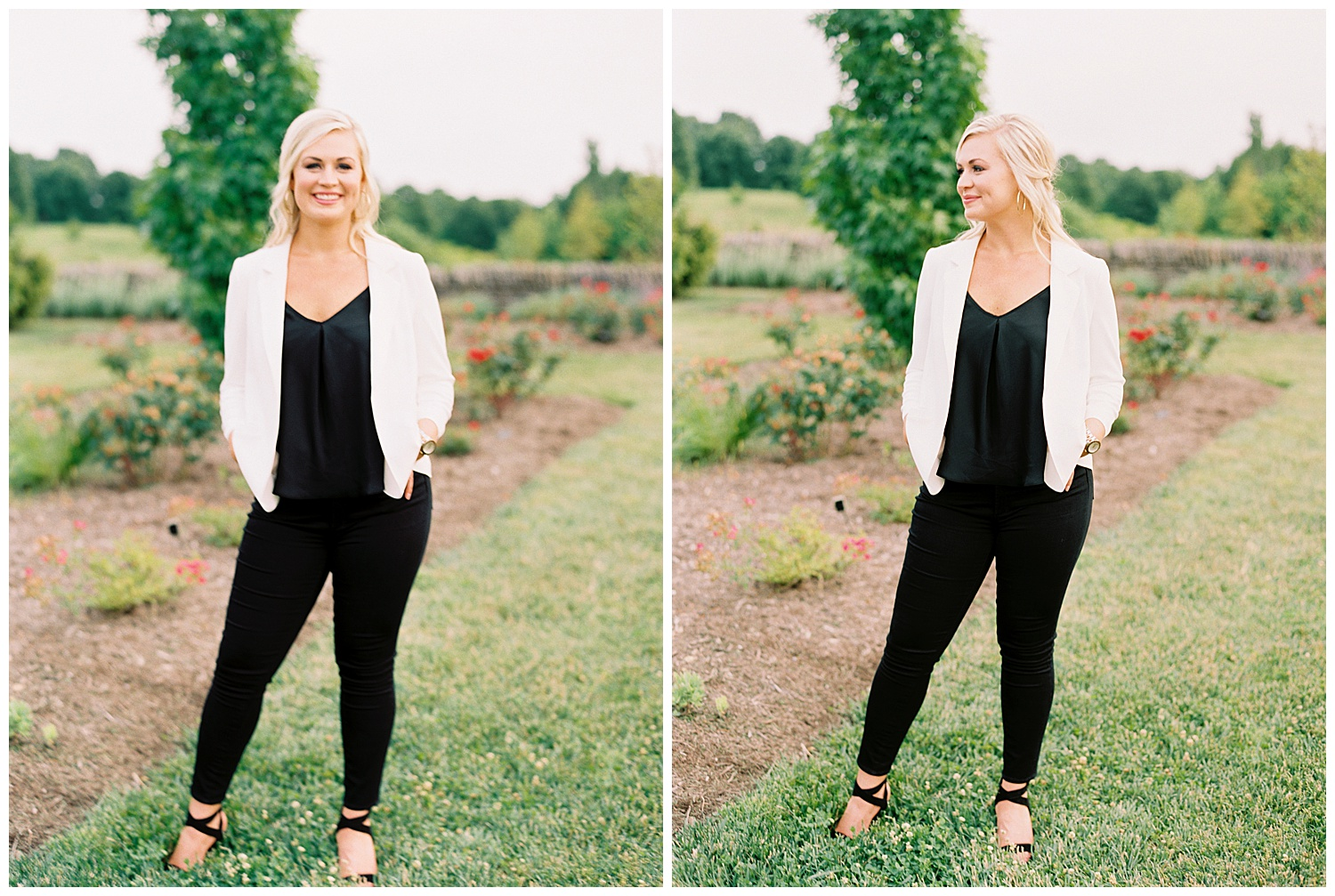 LOOK AT THIS BOSS BABE! One thing I absolutely adore about Morgan, is that she, like myself, is also a fellow small business owner! She is the owner of a wildly successful clothing boutique in Stanford, KY called  Morgan's On Main ! Her style is so gorgeous, and she's basically a full on rockstar for running such an amazing business!