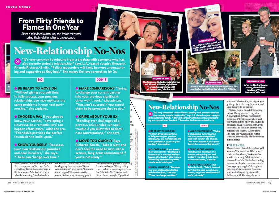 Us Weekly Magazine | Gwen's Revenge Romance | Rhonda Richards-Smith
