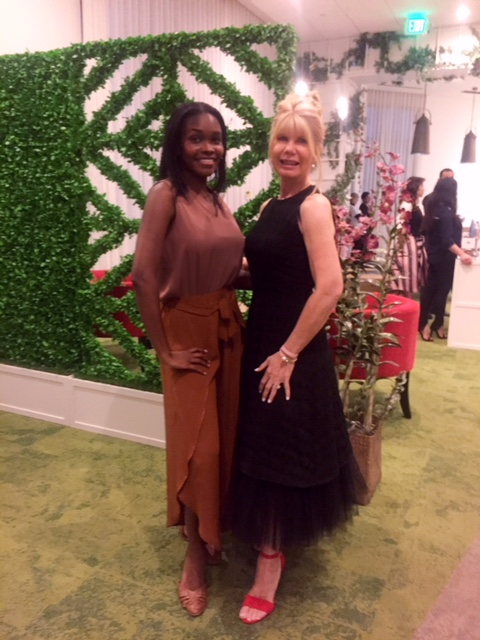 Rhonda richards-smith & Theresa Armour, co-founder of burke williams day spa