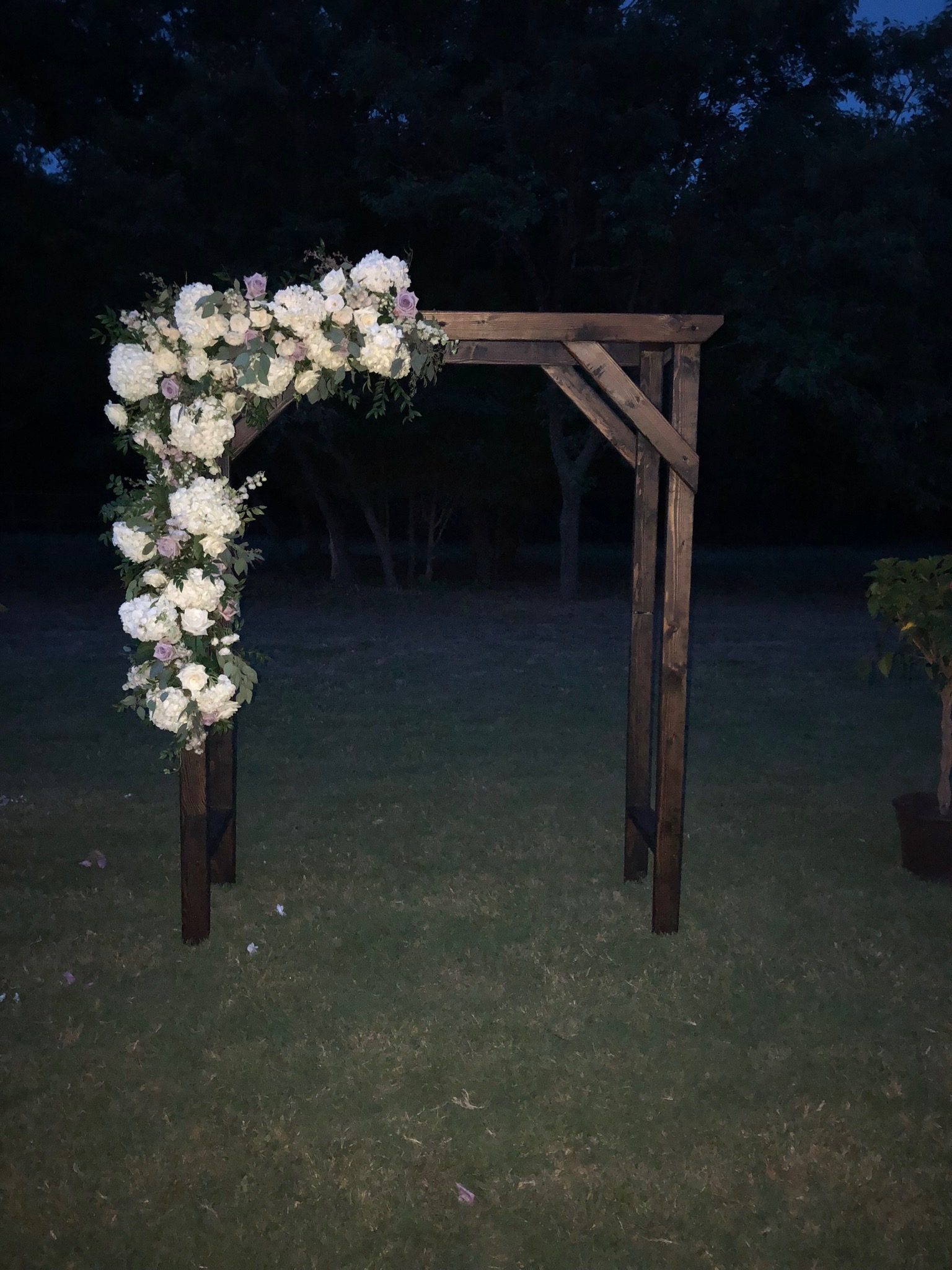 wedding trellis