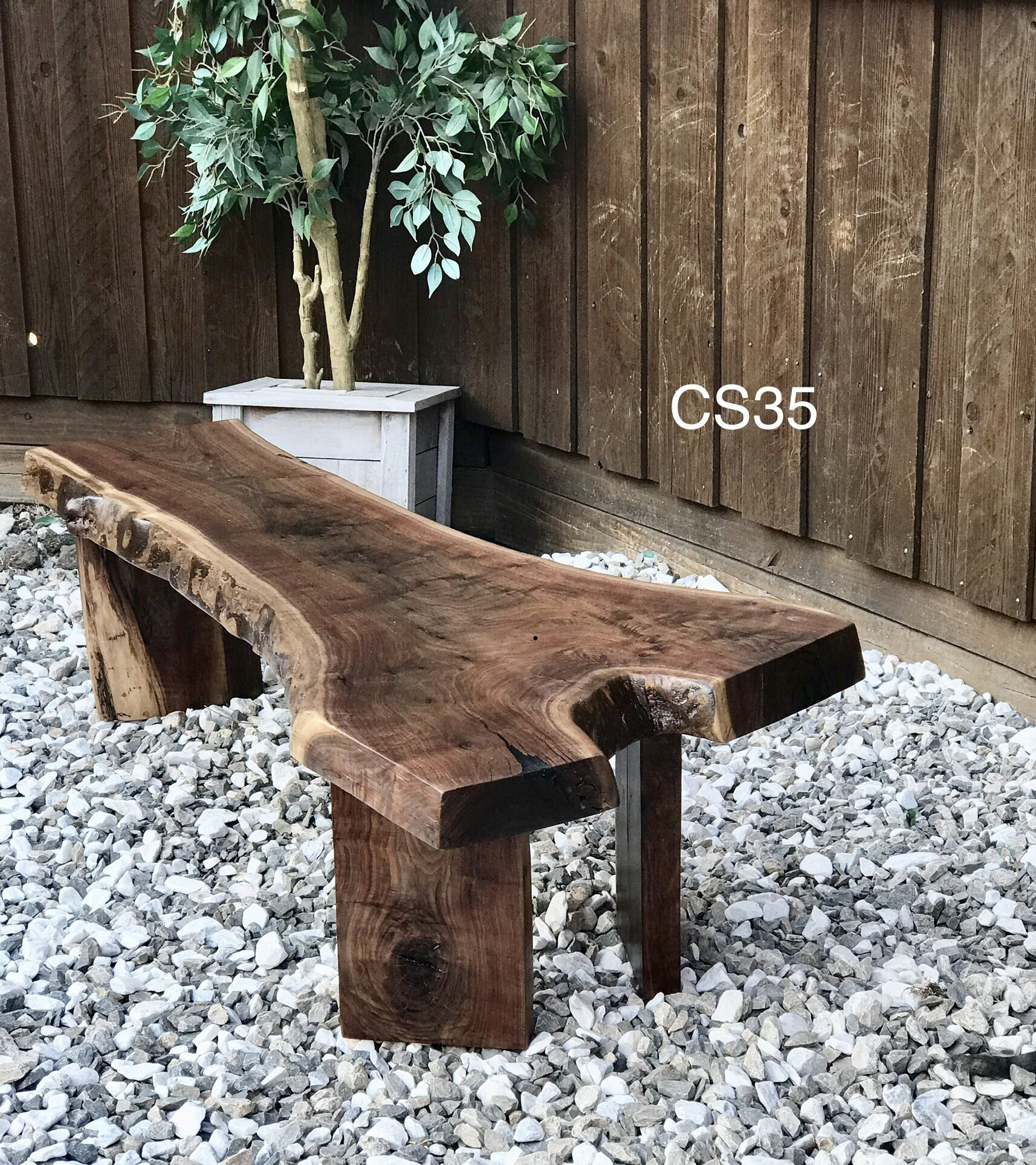 wood: WALNUT / stain: NATURAL