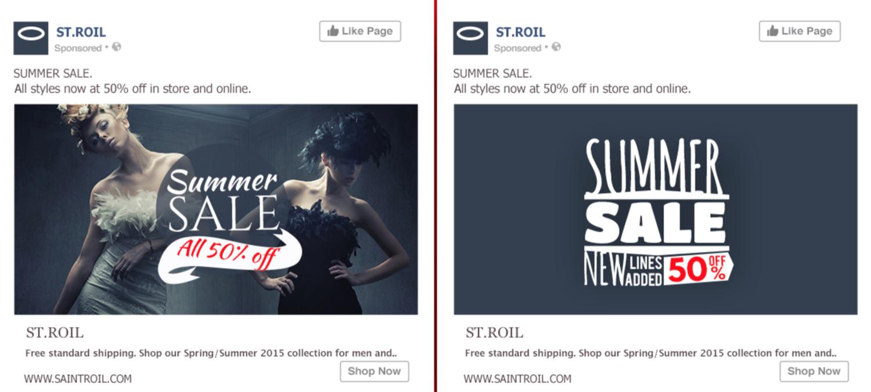 facebook ad split test