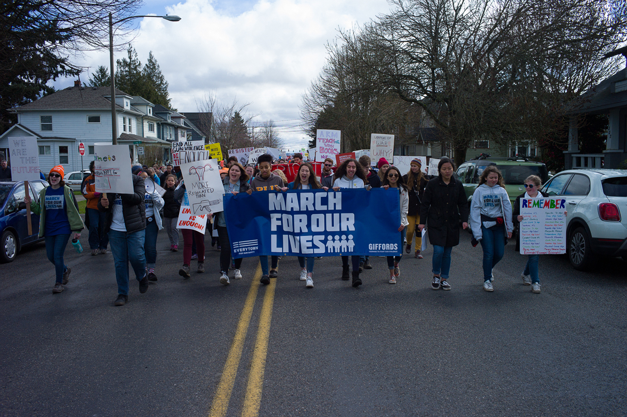 March For Our Lives, Tacoma, 2018